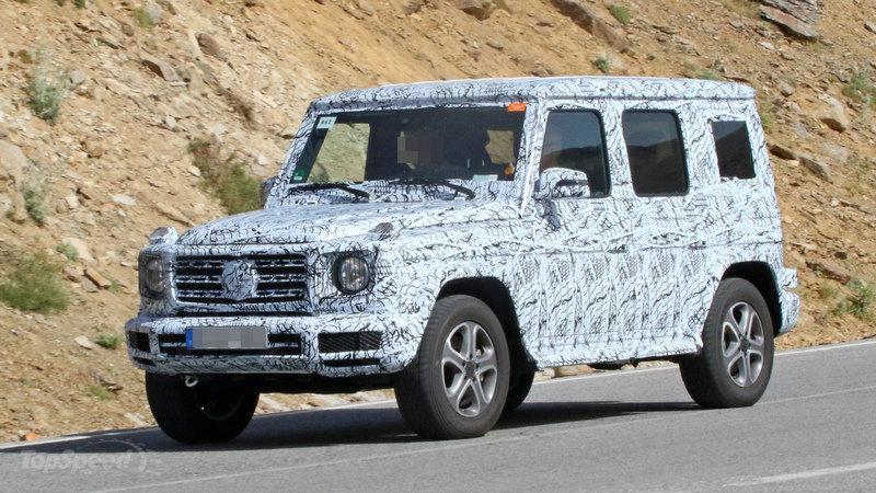 Марка Mercedes готова презентовать новый G-Class 2