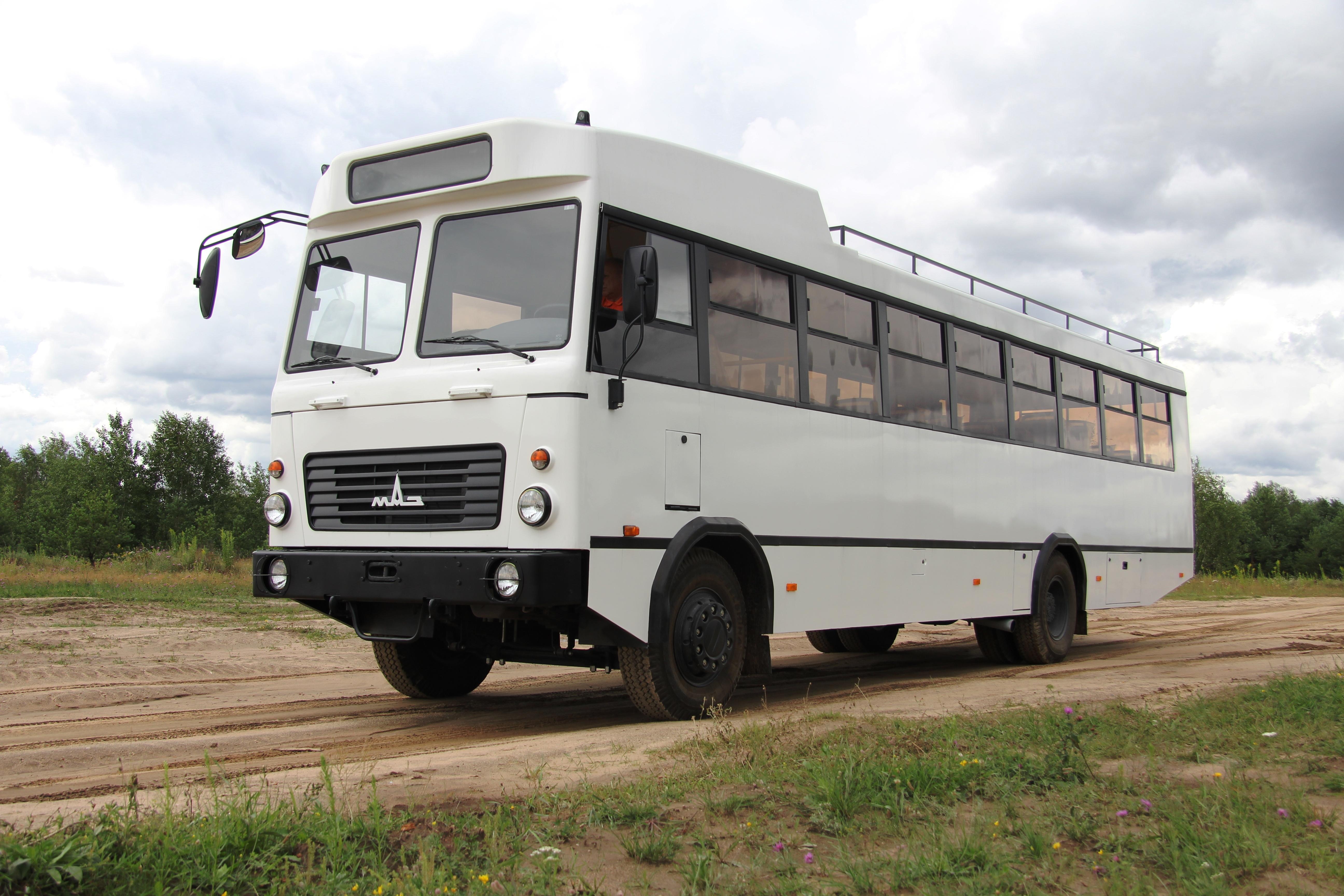 МАЗ построил автобус для африканских стран 1