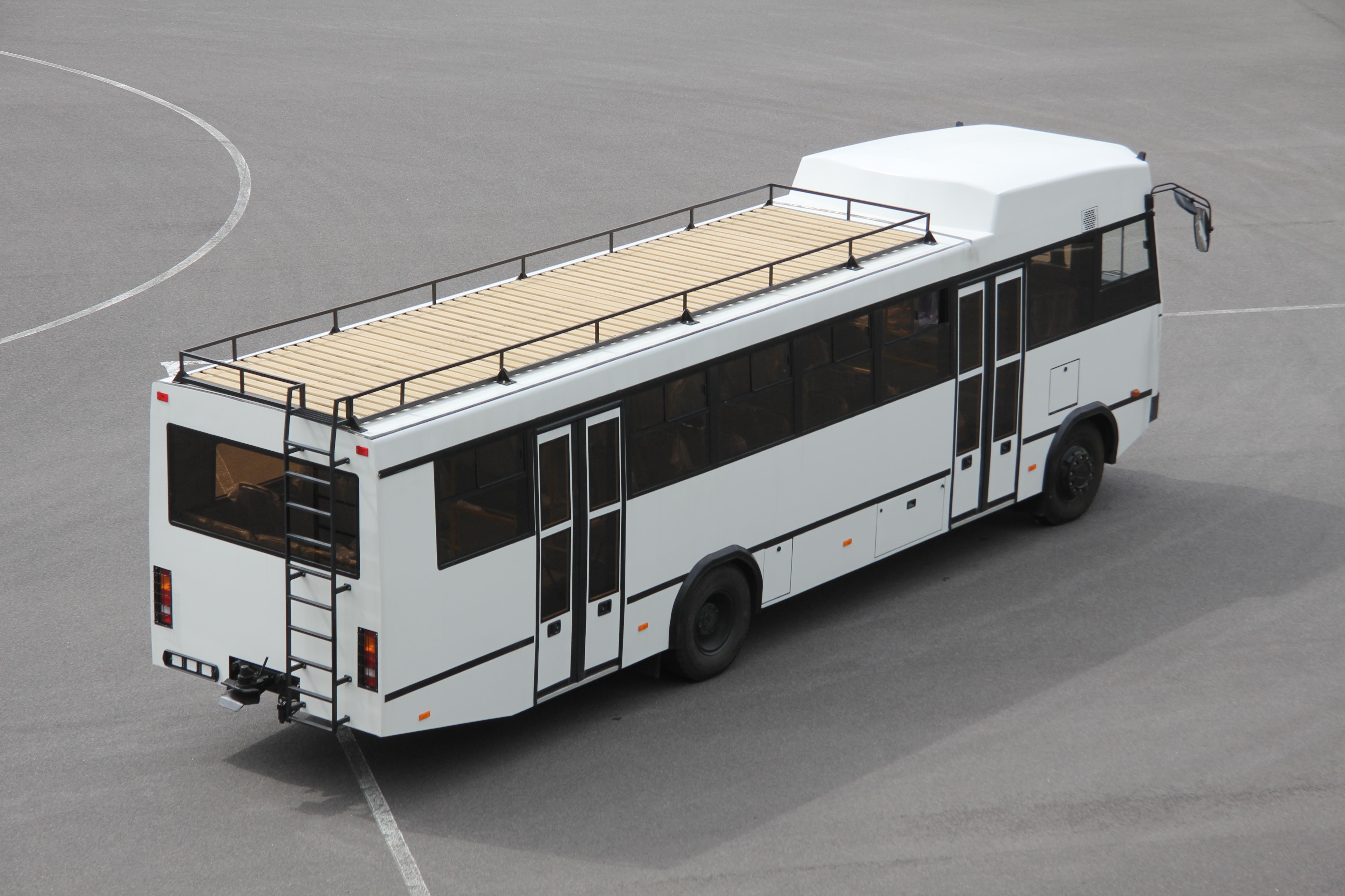 МАЗ построил автобус для африканских стран 3
