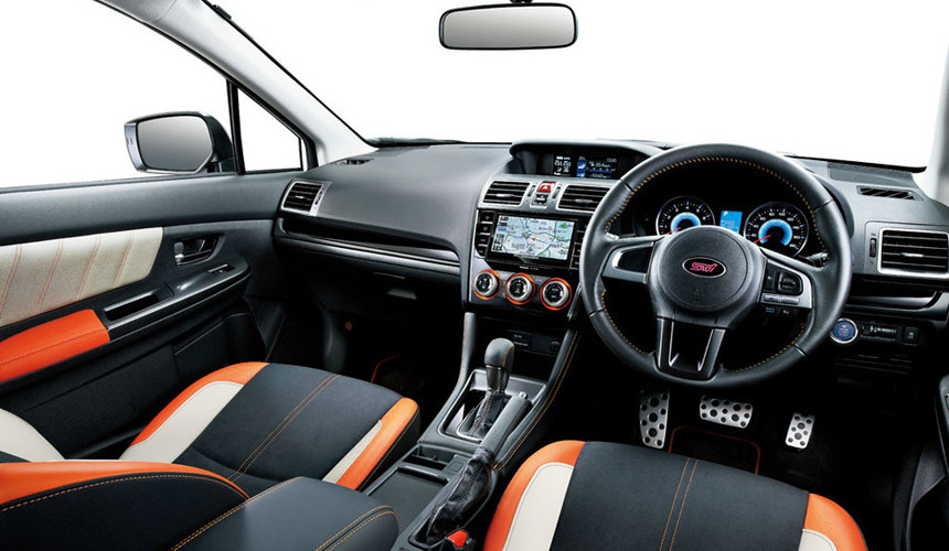 Новый хэтчбек Subaru - гибрид 2