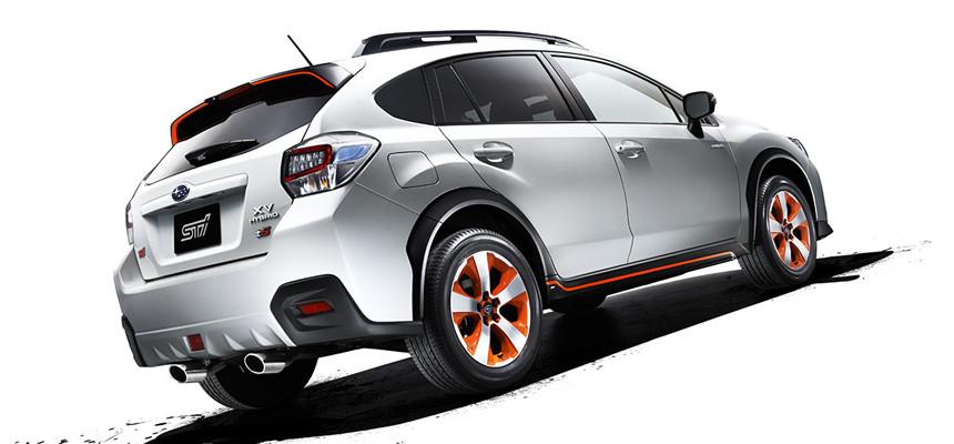 Новый хэтчбек Subaru - гибрид 1