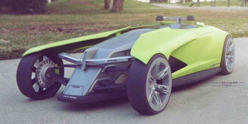 Автомобиль «из будущего»: Dodge Osis 1