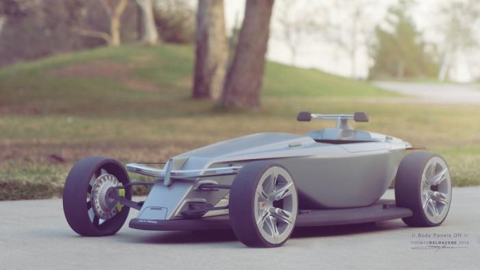Автомобиль «из будущего»: Dodge Osis 2