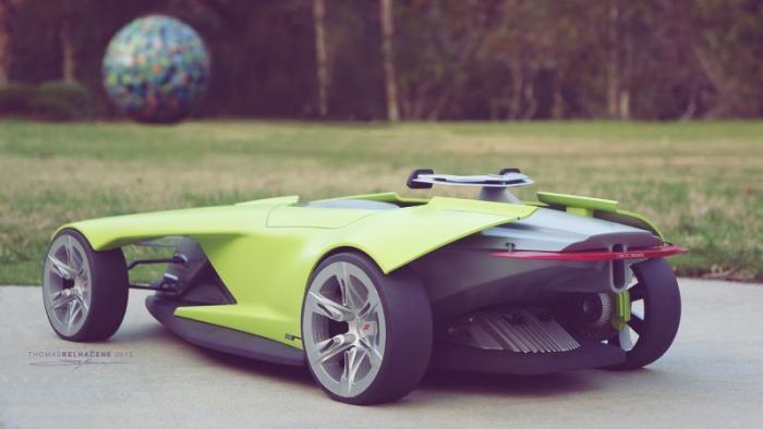 Автомобиль «из будущего»: Dodge Osis 3