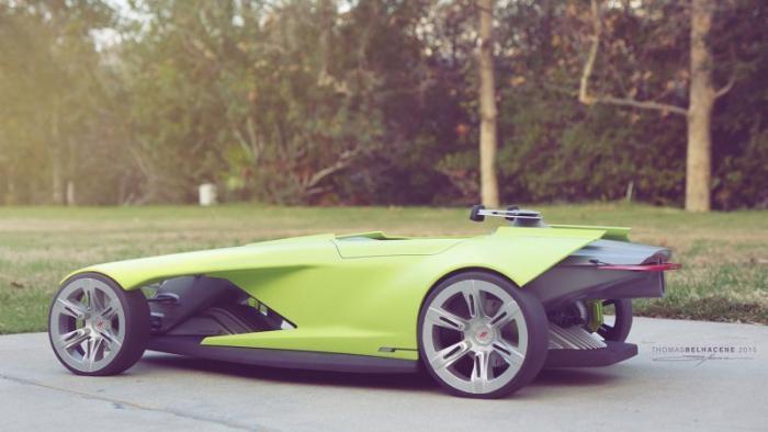 Автомобиль «из будущего»: Dodge Osis 4