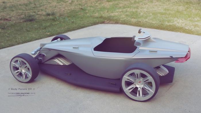 Автомобиль «из будущего»: Dodge Osis 5