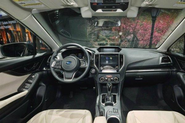 Новая Subaru Impreza оснащена подушкой безопасности для пешеходов 2