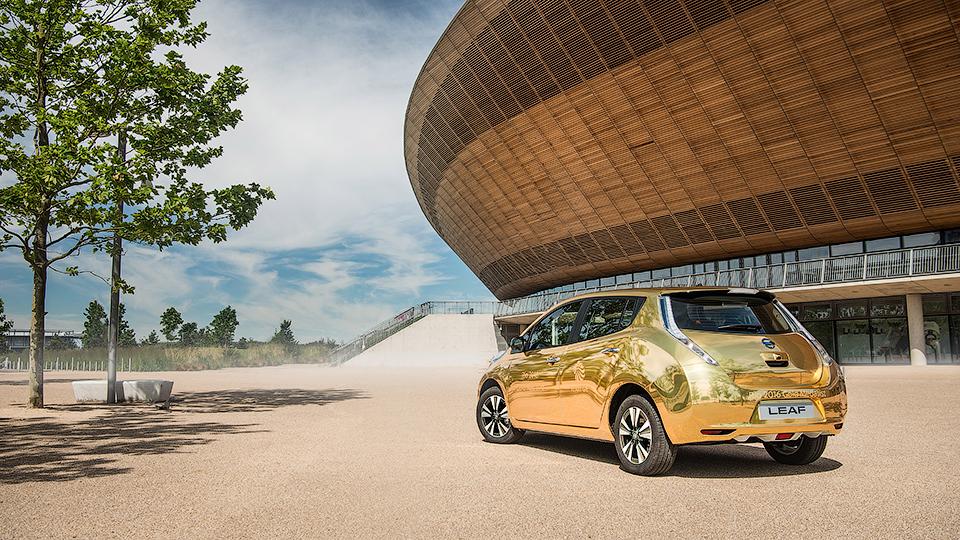 Nissan выпустит лимитированную серию «золотых» авто 2
