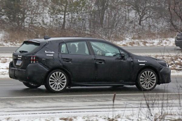 Новое поколение хэтчбека от Subaru 2