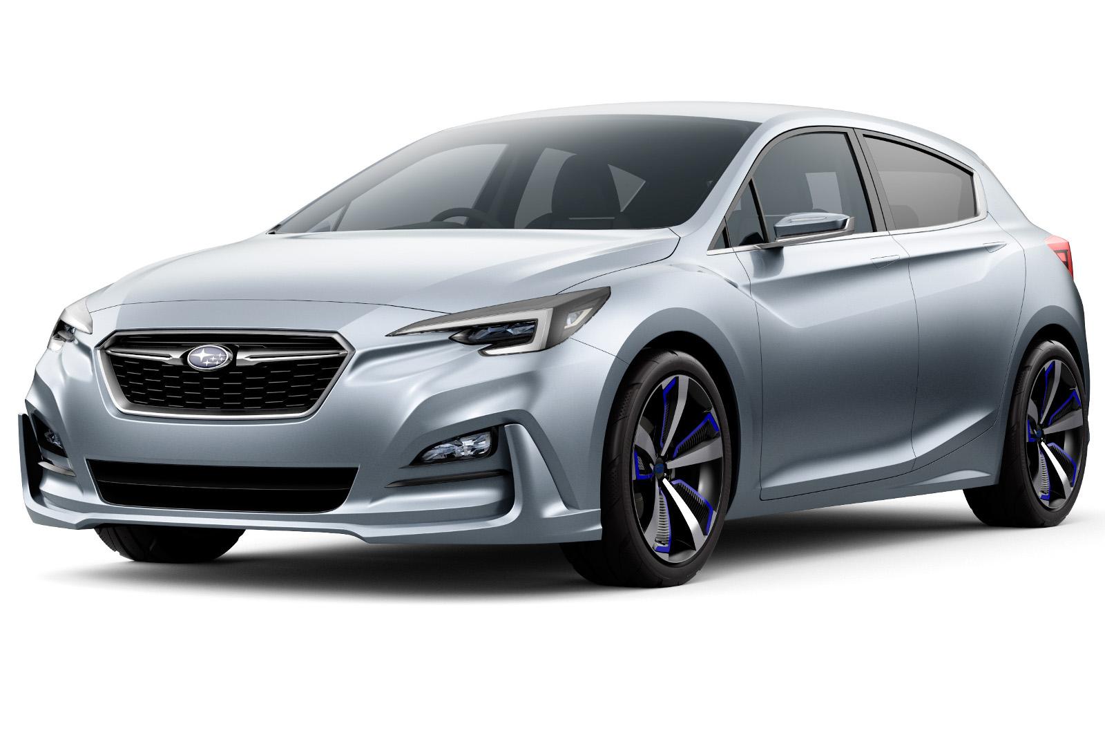 Новое поколение хэтчбека от Subaru 3