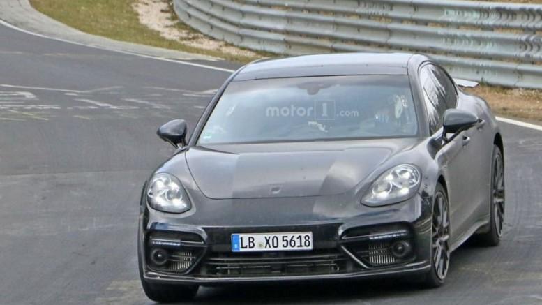 Фотошпионы «рассекретили» Porsche Panamera Turbo 2017 1