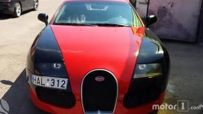Поддельный суперкар Bugatti Veyron продается за 60 000 долларов 1