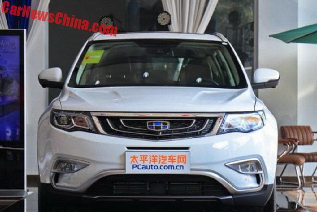 В Китае выпустили кроссовер, который удивит премиум-исполнением салона 1