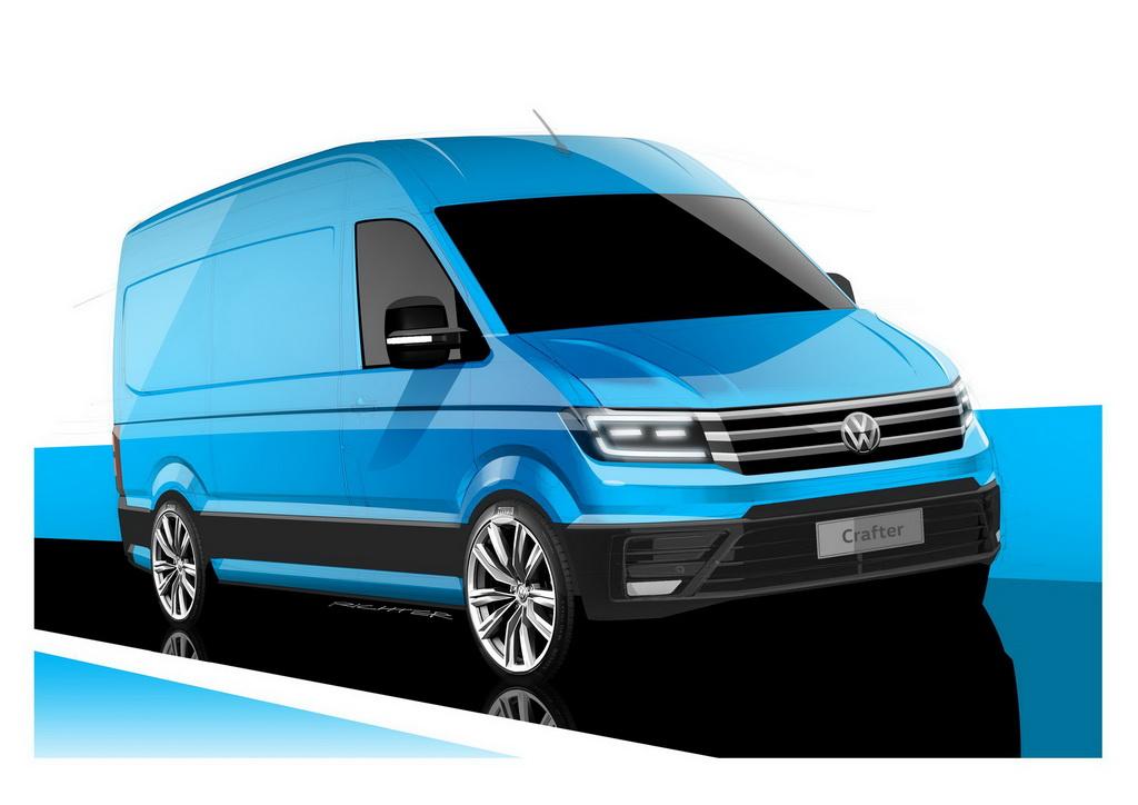 Опубликованы первые изображения нового Volkswagen Crafter 3