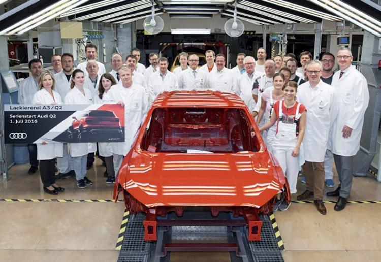 Audi приступает к производству кроссовера Q2 1