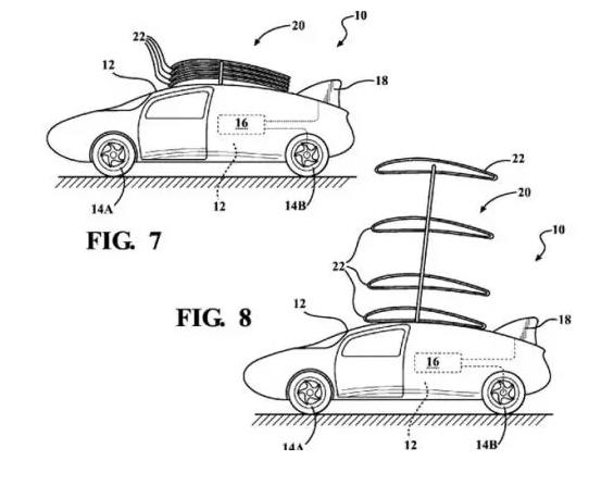 Компания Toyota запатентовала летающее авто 2