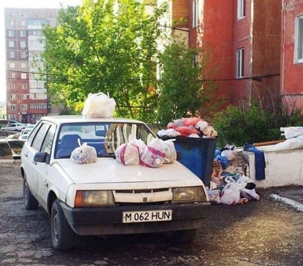 Самые оригинальные «народные» способы наказания «героев парковки» 5