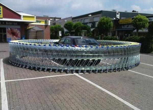 Самые оригинальные «народные» способы наказания «героев парковки» 1