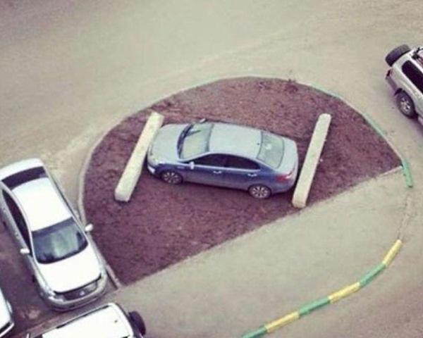 Самые оригинальные «народные» способы наказания «героев парковки» 4