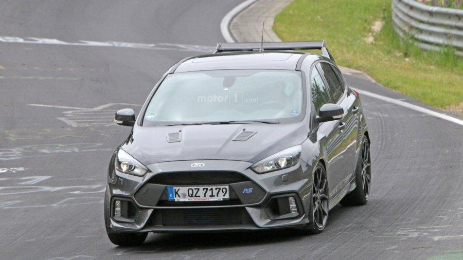 Ford тестирует «сверхмощный» Focus 1