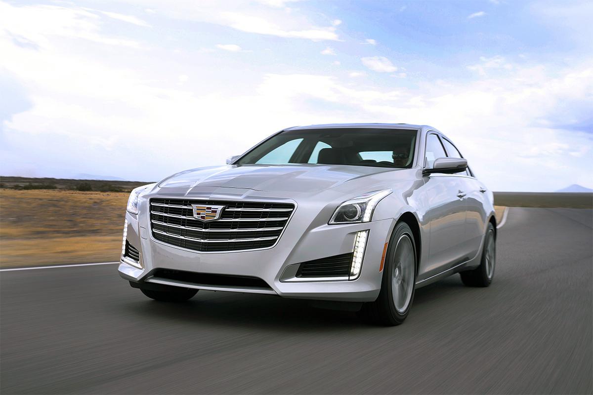 Cadillac обновил седан CTS 1