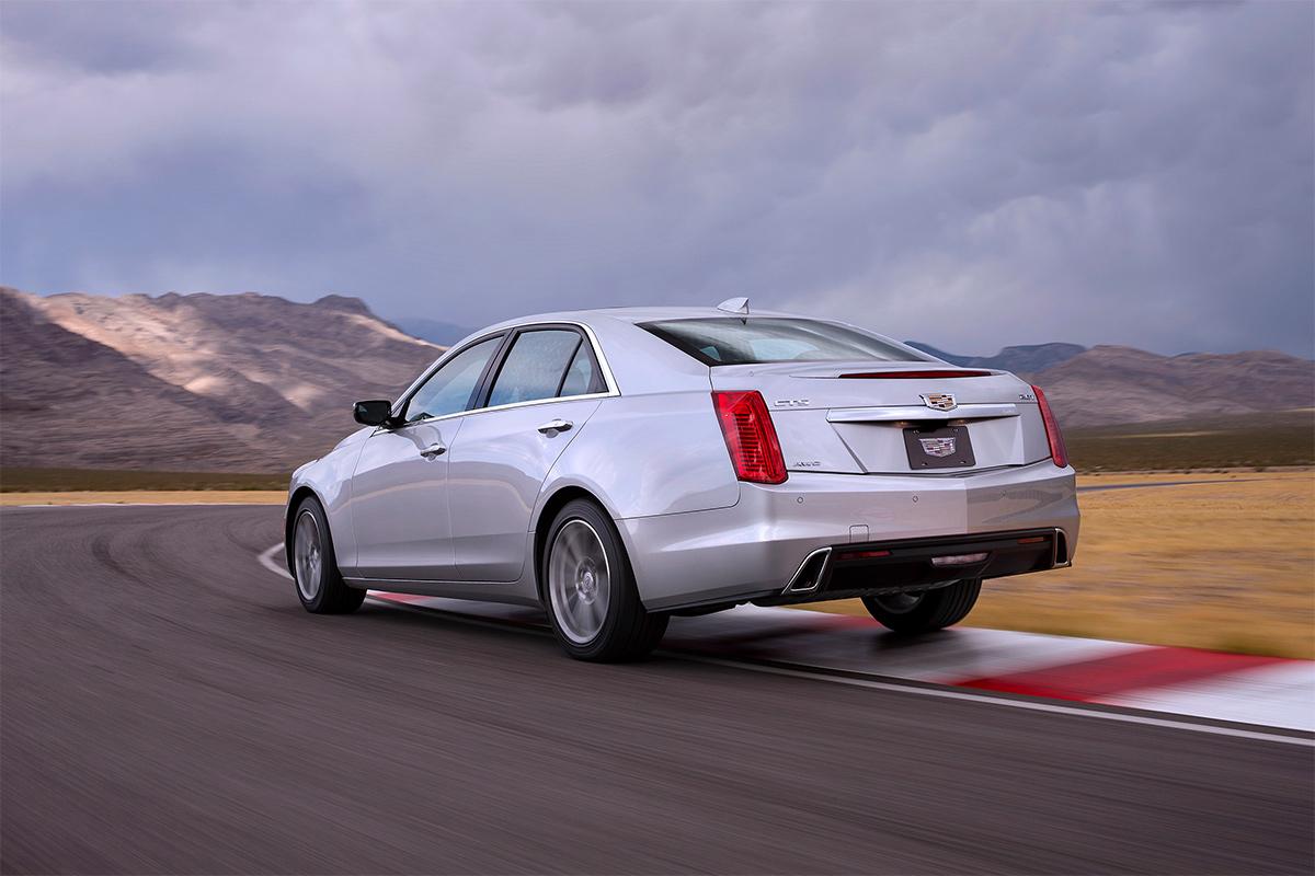 Cadillac обновил седан CTS 2