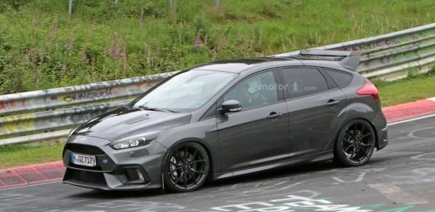 Ford тестирует «сверхмощный» Focus 2
