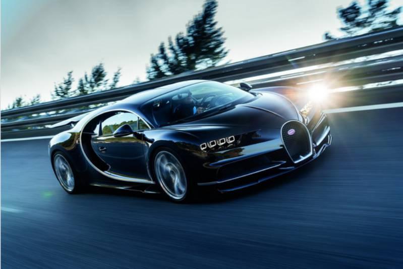 Компания Bugatti хочет установить новый рекорд скорости 1
