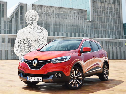 Компания Renault представит в Украине свои новинки 2