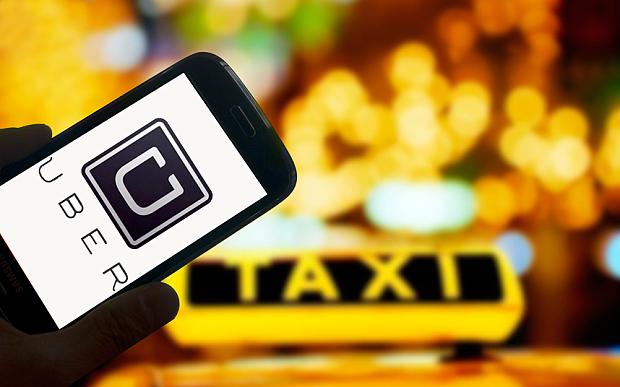 В Украине сегодня заработает сервис такси Uber 1