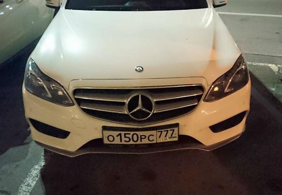 Киевский автовладелец «замаскировал» российские номера под украинские 1
