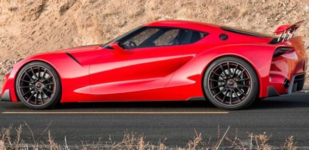 Toyota строит Supra нового поколения 1