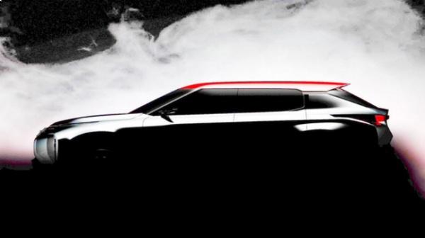 Mitsubishi презентует новый кроссовер 1