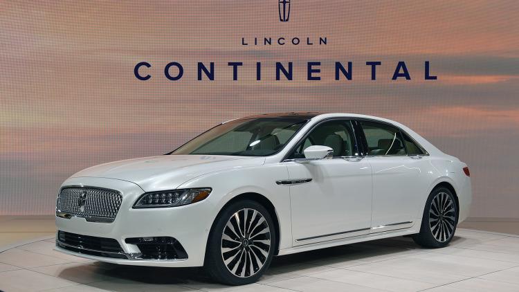 Марка Lincoln переименует свои модели 1