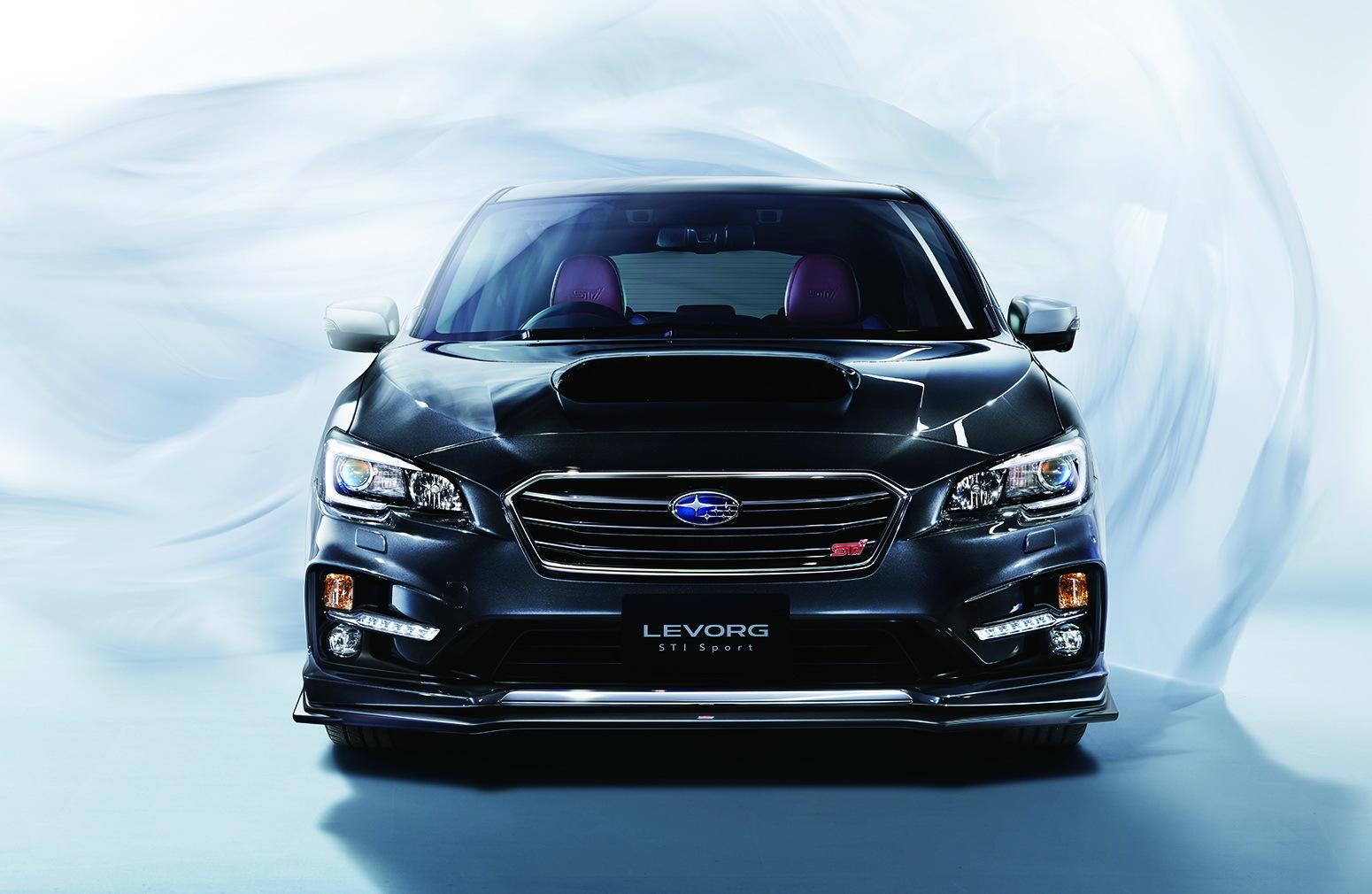 Компания Subaru официально презентовала «заряженный» Levorg STI 1