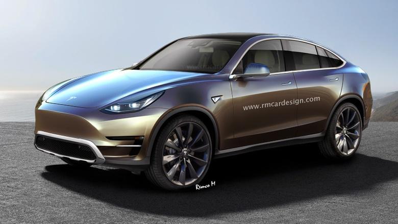 Кроссовер Tesla оснастят системой «autopilot» 2