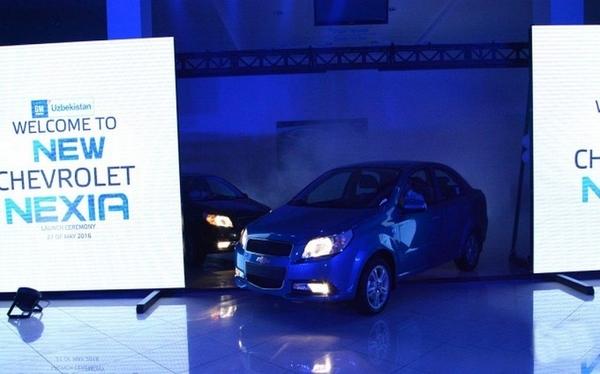 В Узбекистане состоялась презентация Chevrolet Nexia 1