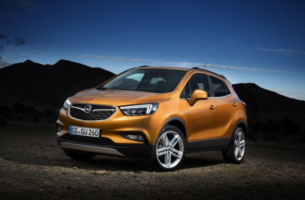 Обновленный кроссовер Opel Mokka X запустили в серию 1