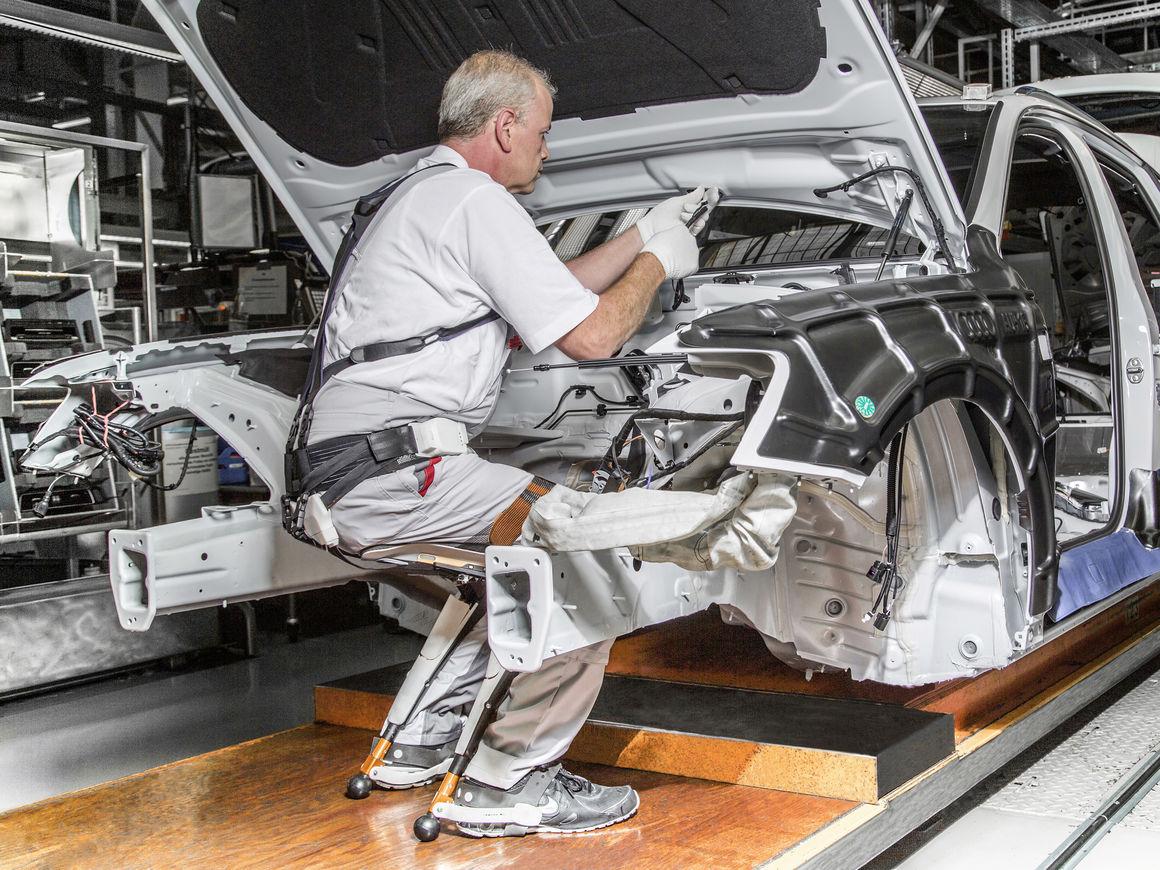 Завод Audi приостановил свою работу 1