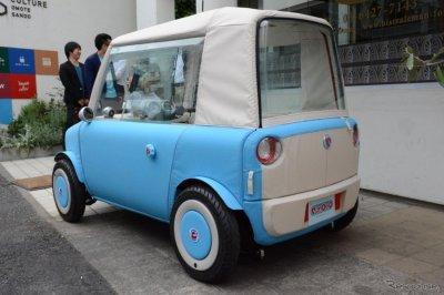 Японцы презентовали новый электромобиль, массой всего 200 кг 2