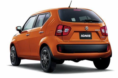 Официальные фото Suzuki Ignis 2