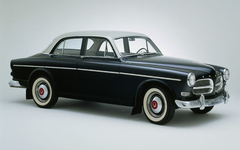 Volvo Amazon отмечает 60-ти летие 1