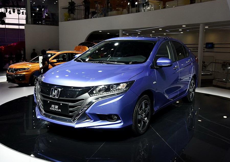 Honda презентовала новейший кроссовер 1