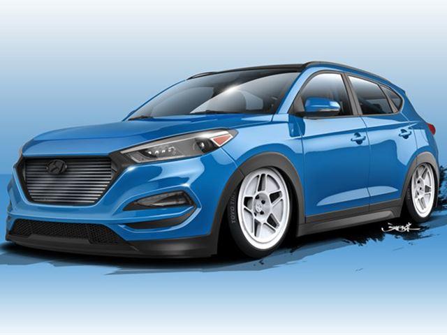 Hyundai и Bisimoto выпустят новый Tucson 1