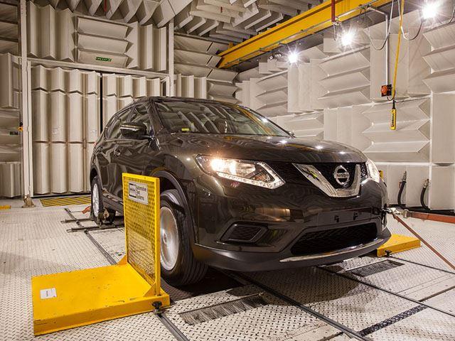 Как Nissan тестирует автомобили 4