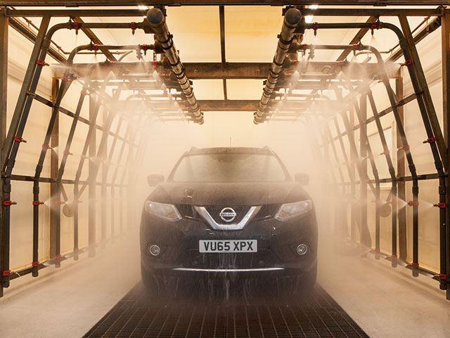 Как Nissan тестирует автомобили 1