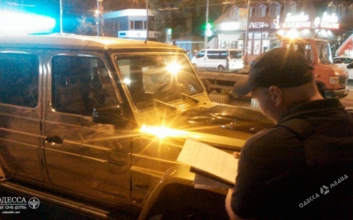 История продолжается: золотой Гелендваген снова оштрафован в Одессе 3