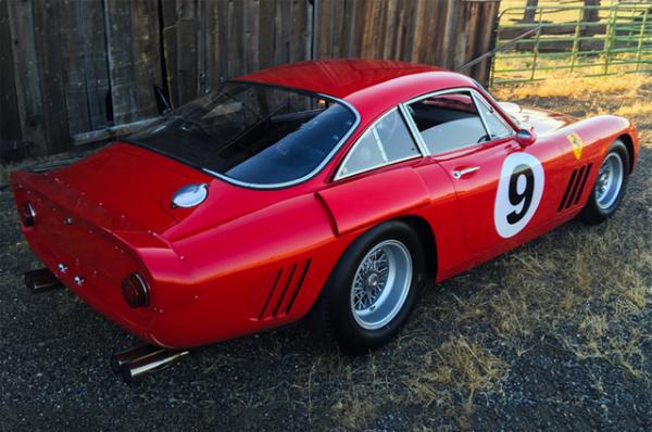 Уникальный Ferrari 1963 г.в. выставили на аукцион 1