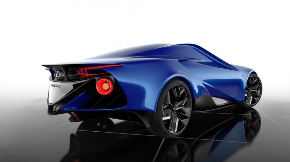 Молодой дизайнер создал концепт нового суперкара Lexus 1