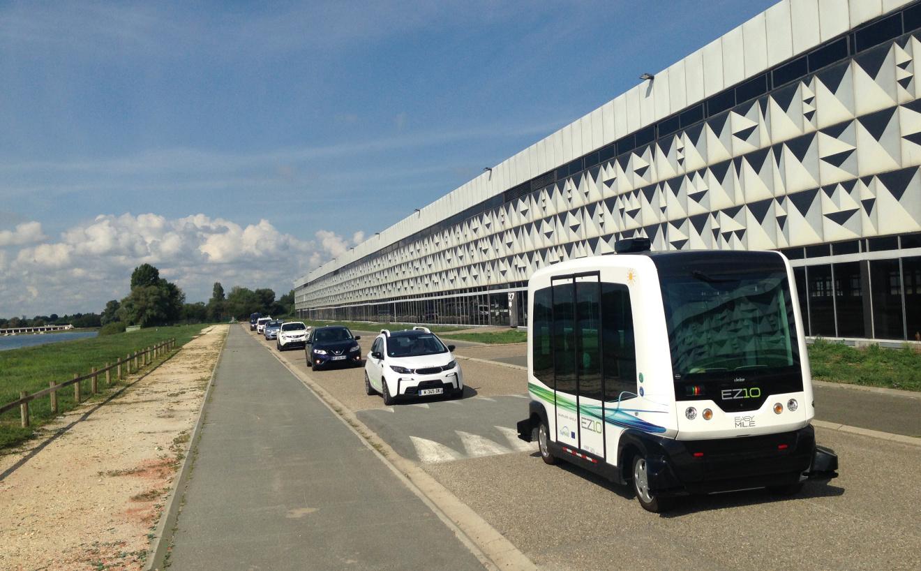 В Японии запустят беспилотный автобус 1